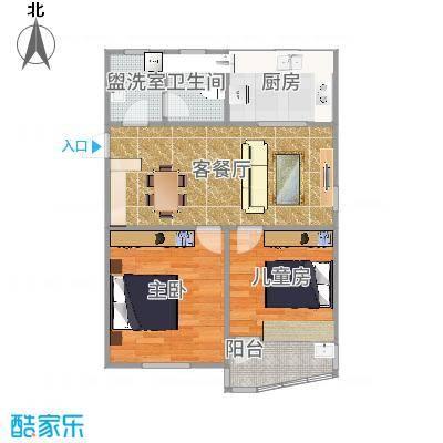 上海_听潮四村_第一次设计