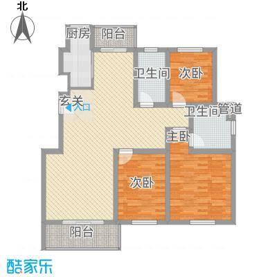 江南春天137.70㎡户型