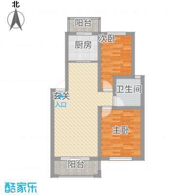 江南春天86.00㎡户型