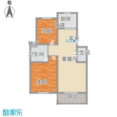 江南春天156.00㎡户型