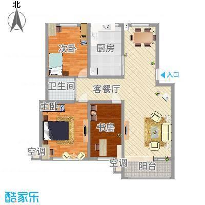 我的家园159.00㎡我的家园户型10室-副本