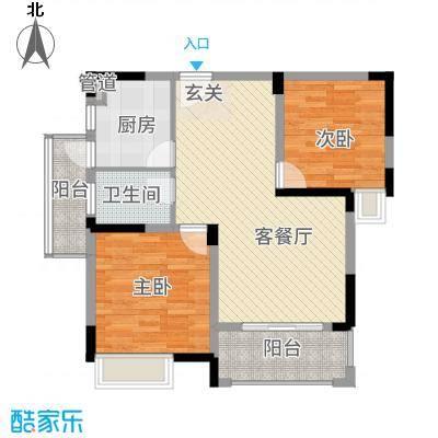 联泰香域滨江户型2室