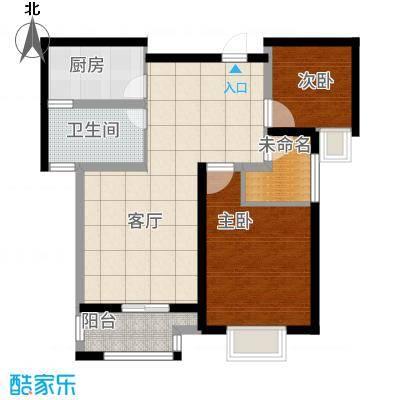 高力金色果缘户型3室1厅1卫1厨-副本