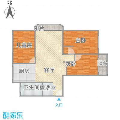 三室两厅(万成尚景)