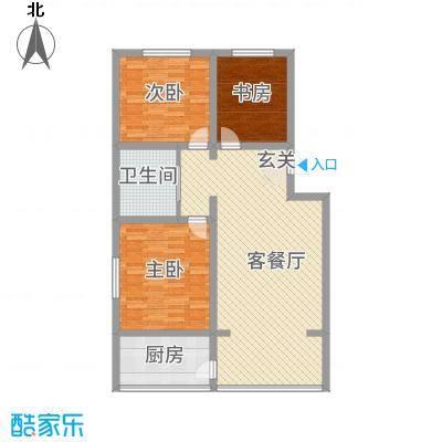 汉浦新村125.00㎡户型3室