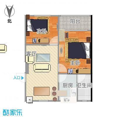 上海_学前二村_原始户型图