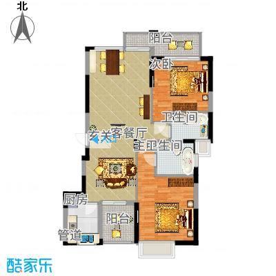 比华利山庄比华利山庄户型图户型43室2厅2卫1厨户型3室2厅2卫1厨-副本