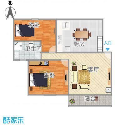 上海_明纶园2号601室2-1-1_2015-12-04-1100