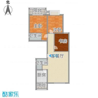 银海水韵三室两厅两卫135平米-副本
