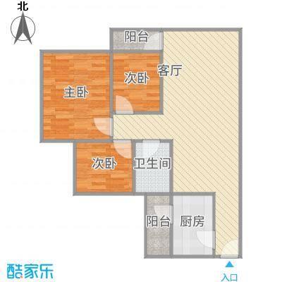 银领时代公寓_3栋朝北01户型