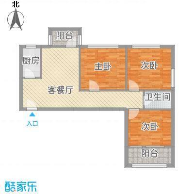 车道沟南里户型3室-副本