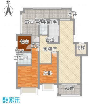 绿地乔治庄园137.00㎡绿地乔治庄园户型图二期花园洋房137平米户型3室2厅2卫1厨户型3室2厅2