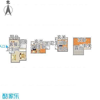 上海_北欧阳光庭园2号301室_2015-12-04-1125