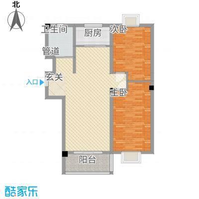 教授花园三期新里程74#-C-2室2厅1卫-约108M²