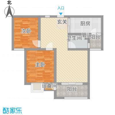 教授花园三期新里程73#-B-2室2厅1卫-约77M²