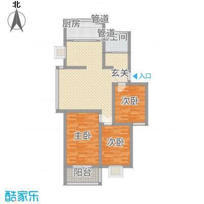 教授花园三期新里程73#-A-3室2厅1卫-约107M²