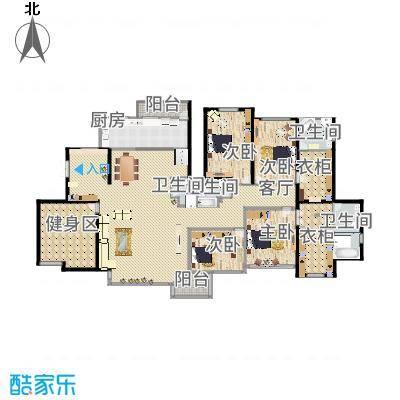 350方现代豪华7居室