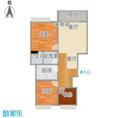上海_宝山青秀城2室1厅_2015-12-10-0922