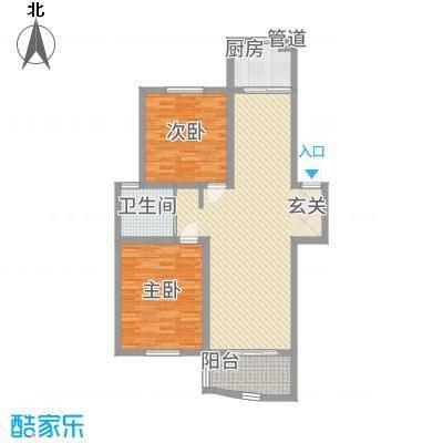华强阳光新城5.15㎡华强阳光都城户型-副本
