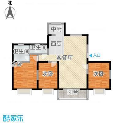 蓼花汀花园蓼花汀花园户型图3室2厅2卫2厨户型10室-副本
