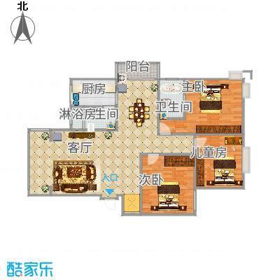 锦豪雍景园三房2厅2卫