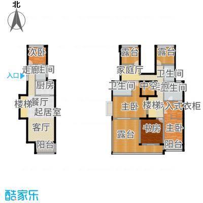 中惠卡丽兰146.48㎡C3紫钻户型4室4卫1厨-副本