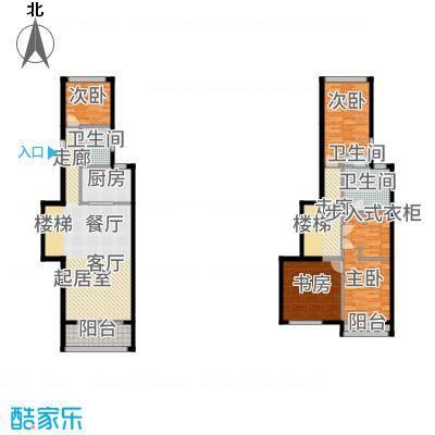 中惠卡丽兰136.40㎡C2紫砖石(薰衣草紫)扩展户型4室3卫1厨-副本