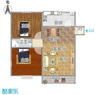 上海_鹏欣家园89平_2015-12-18-1754