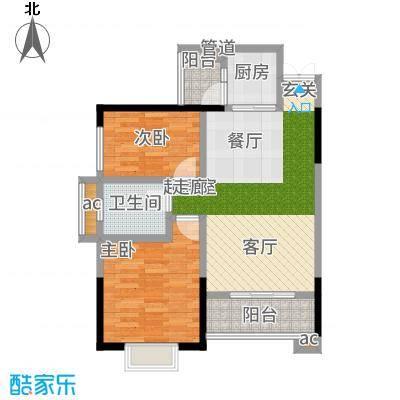 上海城三期单张30栋D3户型