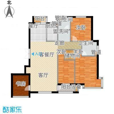 香山翌景户型4室1厅2卫1厨