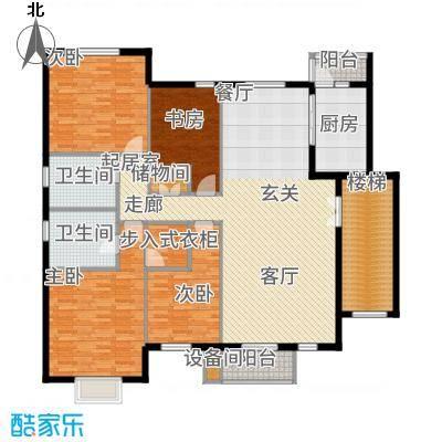 华业玫瑰谷159.42㎡H1、2、19栋户型