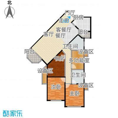 金源・华丽家族118.45㎡房型户型