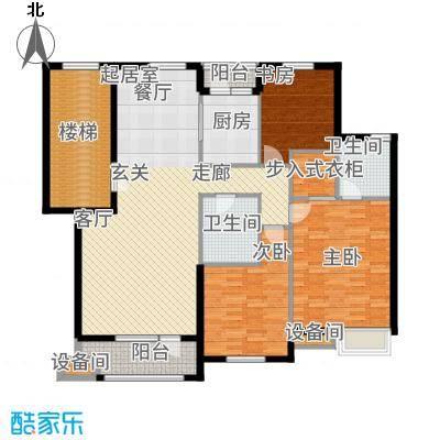 华业玫瑰谷141.47㎡H3、5、11、20栋户型