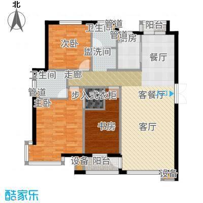 香山翌景户型3室1厅2卫1厨