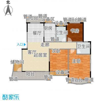 丹霞翠微苑113.02㎡12842m2户型