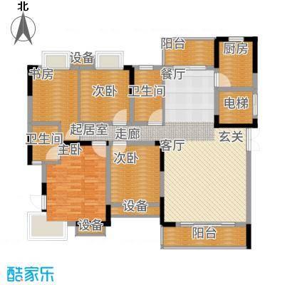 联泰香域尚城140.00㎡D2户型