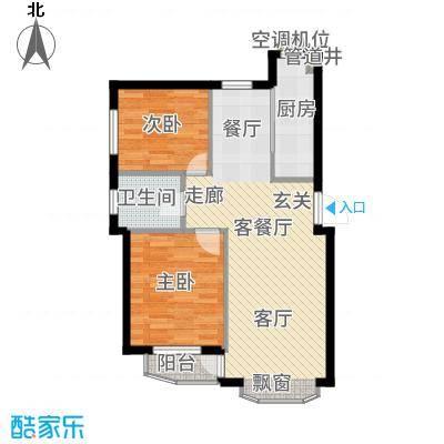 欣怡花园65.00㎡户型