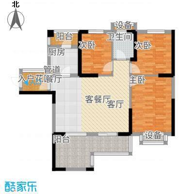 筑梦佳园94.00㎡7-8栋02-05号户型