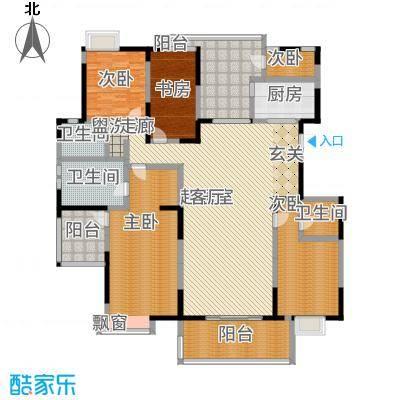 金地曲江尚林苑228.15㎡户型