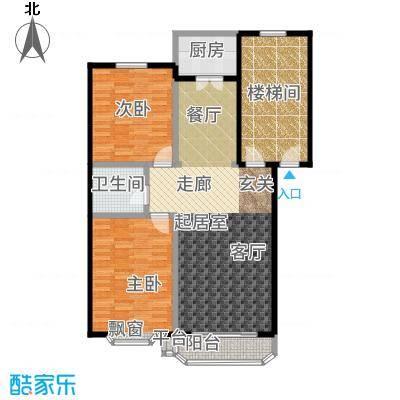 兴龙苑98.74㎡户型
