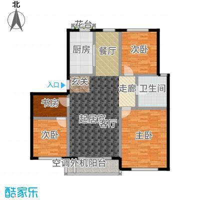 三鑫顺德园111.15㎡户型