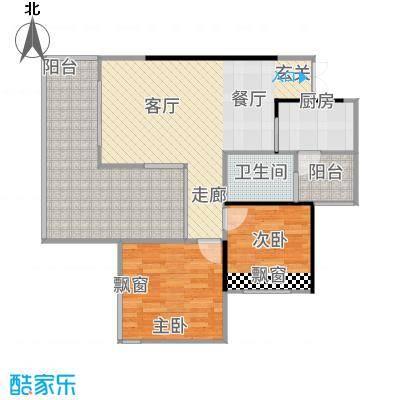 春城斓山户型2室1厅1卫1厨
