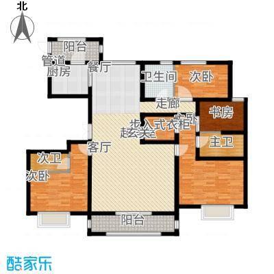 K2·京南狮子城142.00㎡K2・京南狮子城D-3户型