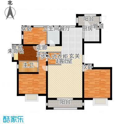 K2·京南狮子城136.00㎡K2・京南狮子城D-2户型