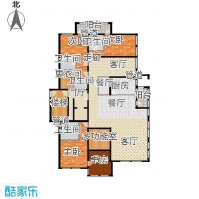 中粮祥云国际生活区330.00㎡D户型