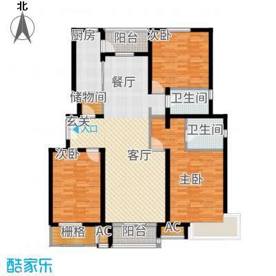 百旺杏林湾145.00㎡一期B3D-4(售罄)户型