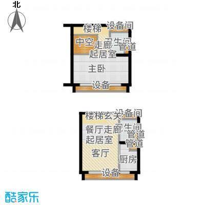中弘北京像素D2a户型