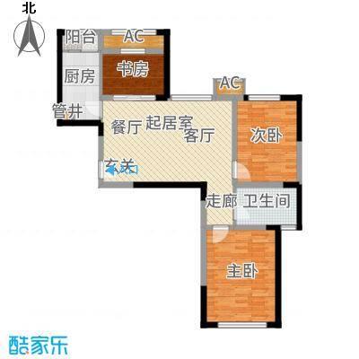 蓝光星华·海悦城85.00㎡蓝光星华・海悦城D户型