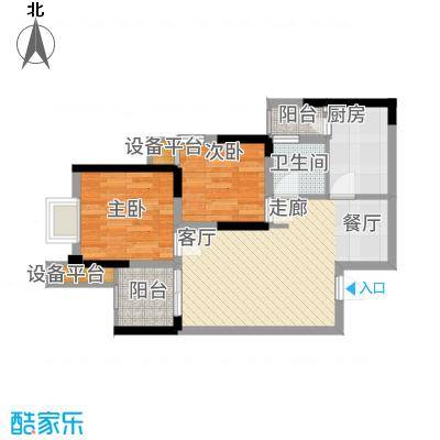 泽胜温泉城阔景高层C户型