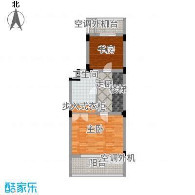 叠墅ONE130.00㎡c三层面积13000m户型